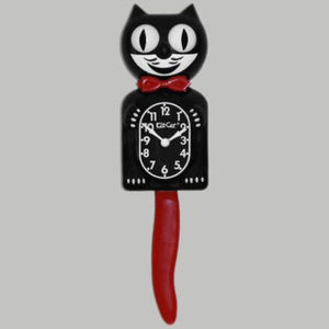 Urban Outfitters Crimson Royale Kit-Cat Clock